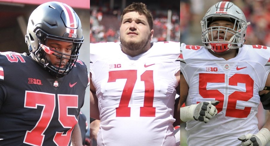 Thayer Munford, Josh Myers, Wyatt Davis