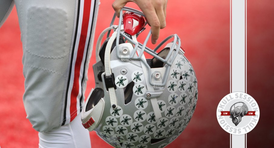 This is a football helmet and it is the header image for today's skull session. Thank you for reading this.