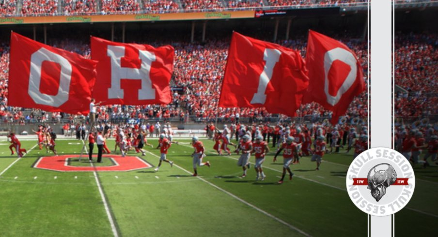 The flags say O-H-I-O in today's Skull Session.