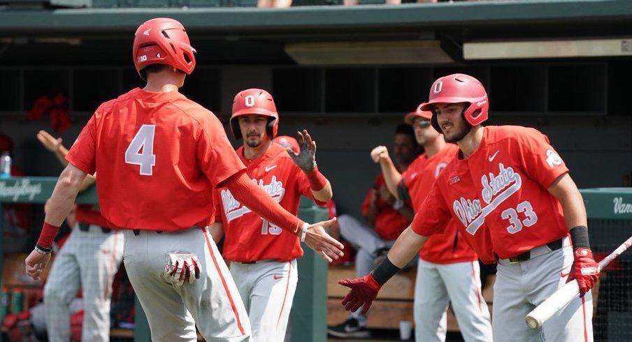 Late-Inning Rally Lifts Ohio State to 9-8 Extra-Innings Win Over McNeese State in NCAA Tournament Elimination Game