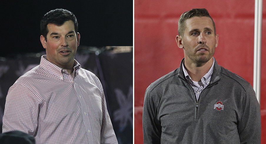 Ryan Day and Brian Hartline made a splash on the recruiting trail with the Julian Fleming commitment.