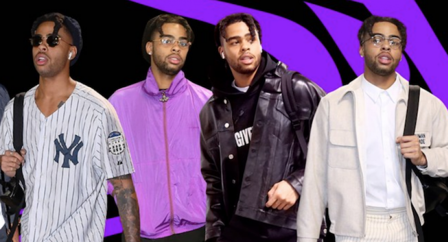 D'Angelo Russell is the NBA's most stylish player.