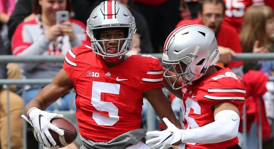 Garrett Wilson and Jaelen Gill could make a push for B1G Freshman of the Year honors.