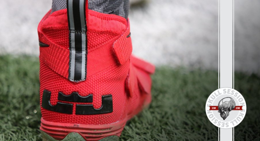 Ohio State has strong shoe game in today's Skull Session.