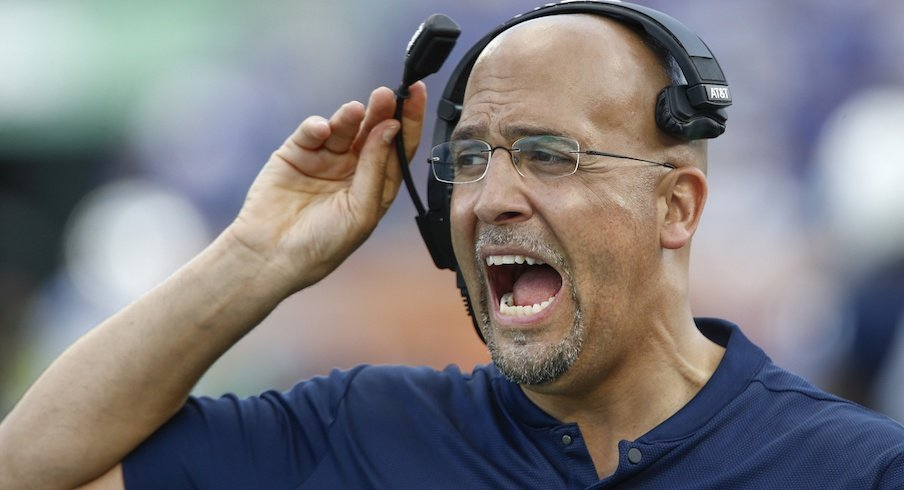 James Franklin can't be happy about this.