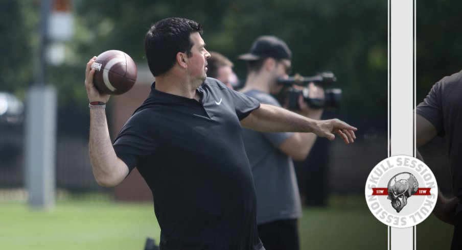 Ryan Day is tossing some deep balls in today's Skull Session.