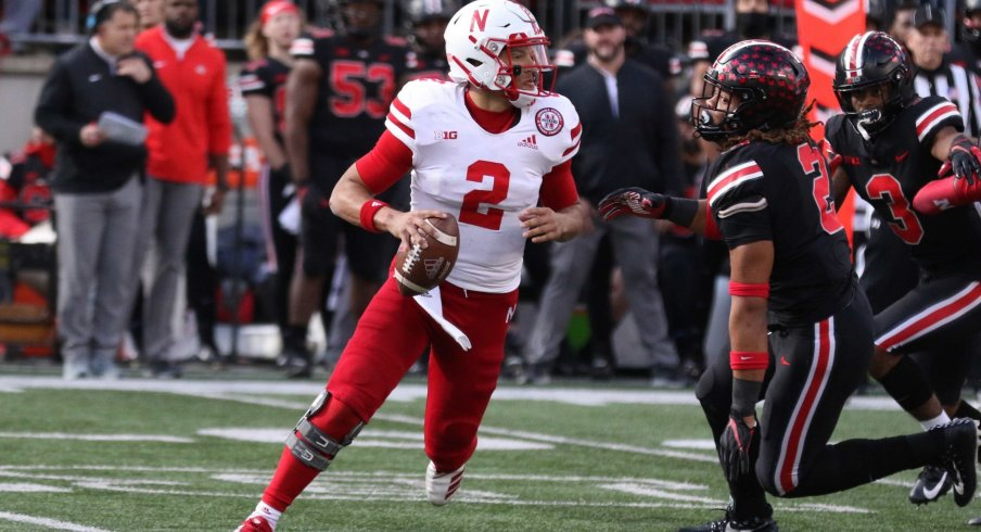Adrian Martinez is a legitimate Heisman contender in his second season under Scott Frost
