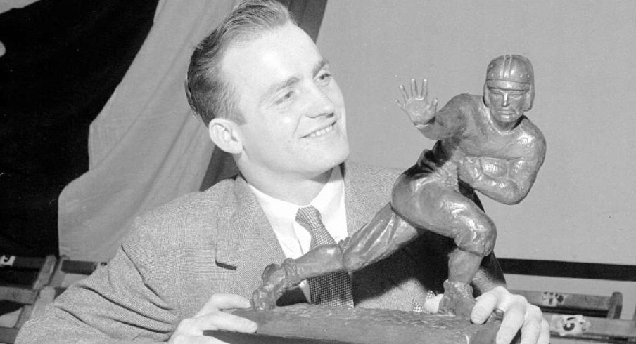 Les Horvath captured Ohio State's first Heisman Trophy in leading the Buckeyes to a perfect 9-0 record in 1944.