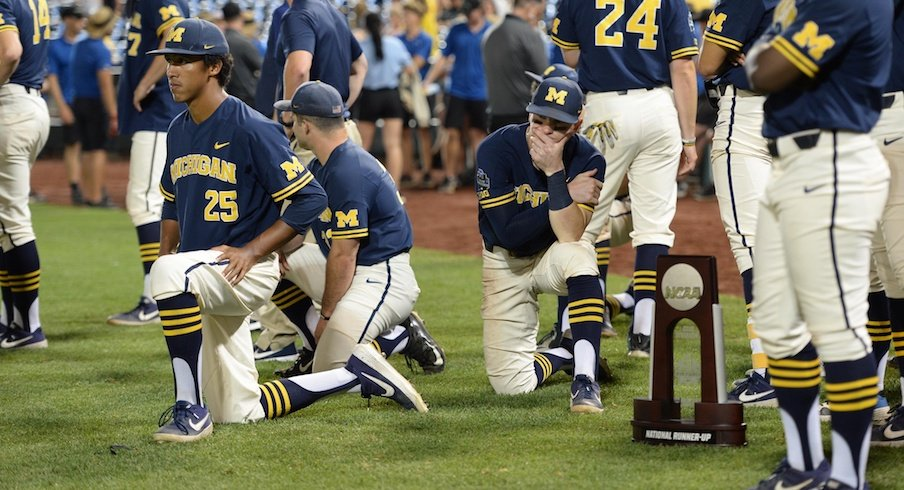 Noted Baseball School Michigan Loses College World Series to