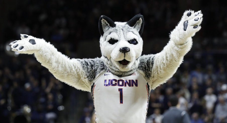 Uconn ain't making a good early impression.