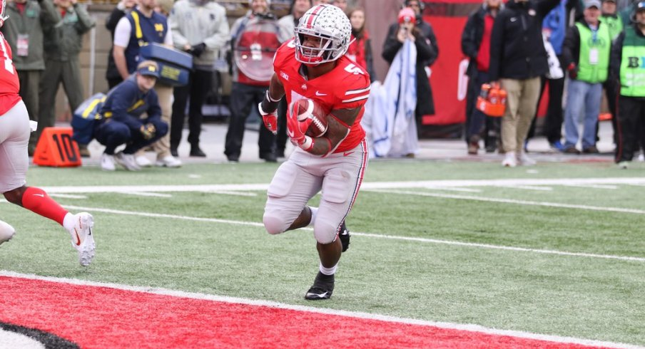 After struggling to punch it in throughout much of October, the Buckeyes found their stride inside the Red Zone in the season's final month.