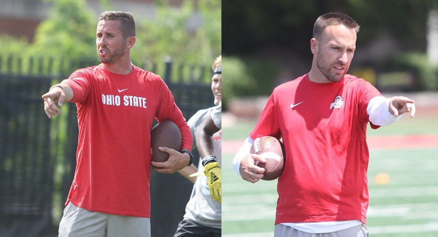 Brian Hartline and Jeff Hafley