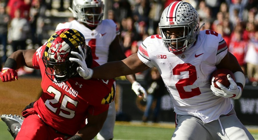 J.K. Dobbins stole Maryland's soul with 203 rushing yards in a 52-51 road win.