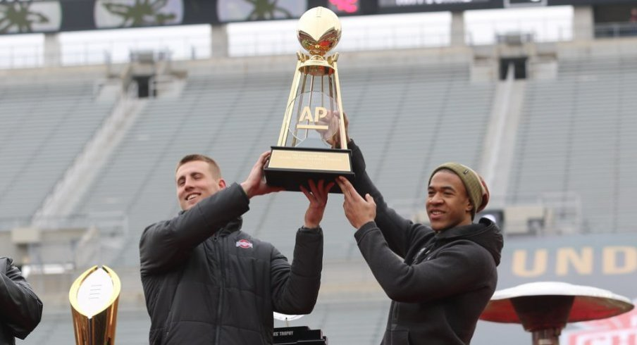 Ohio State slotted No. 5 in the 2014 AP Preseason Poll.