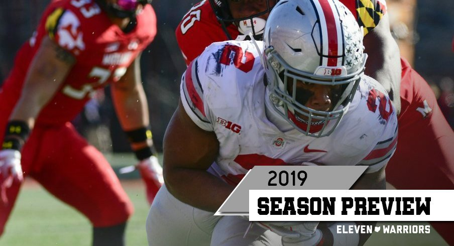 J.K. Dobbins expects to enjoy a resurgence in yards per carry this fall.