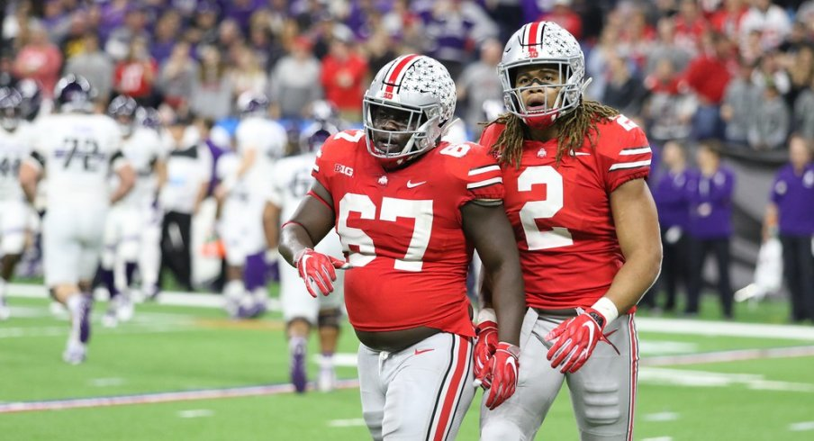 Landers and Young in the Big Ten Championship game