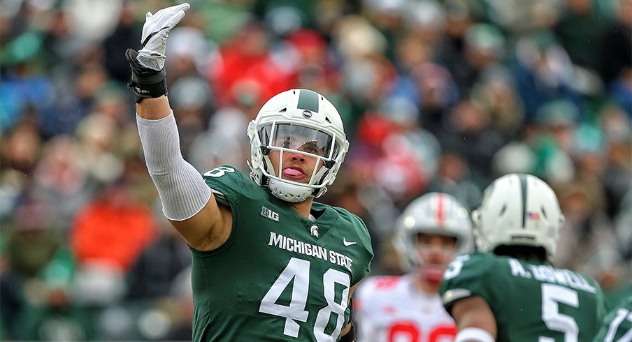 Michigan State defensive end Kenny Willekes