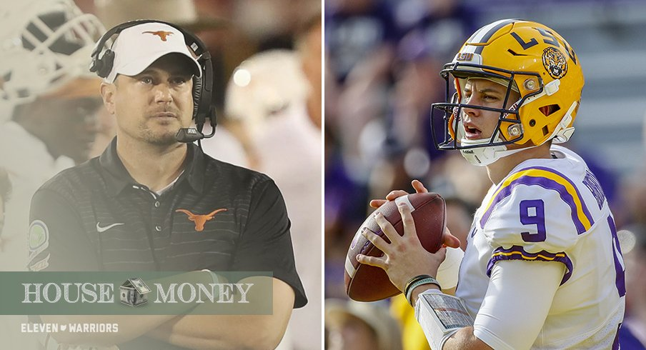 Tom Herman is set to host Joe Burrow and the Tigers this weekend in Austin.