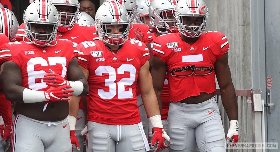 Ohio State linebacker Tuf Borland