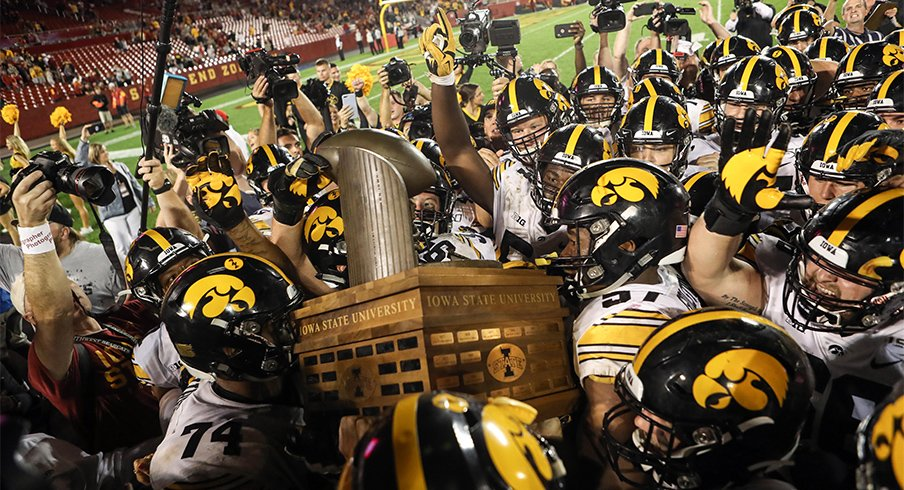 The Hawkeyes topped the Cyclones for a fifth-straight time.