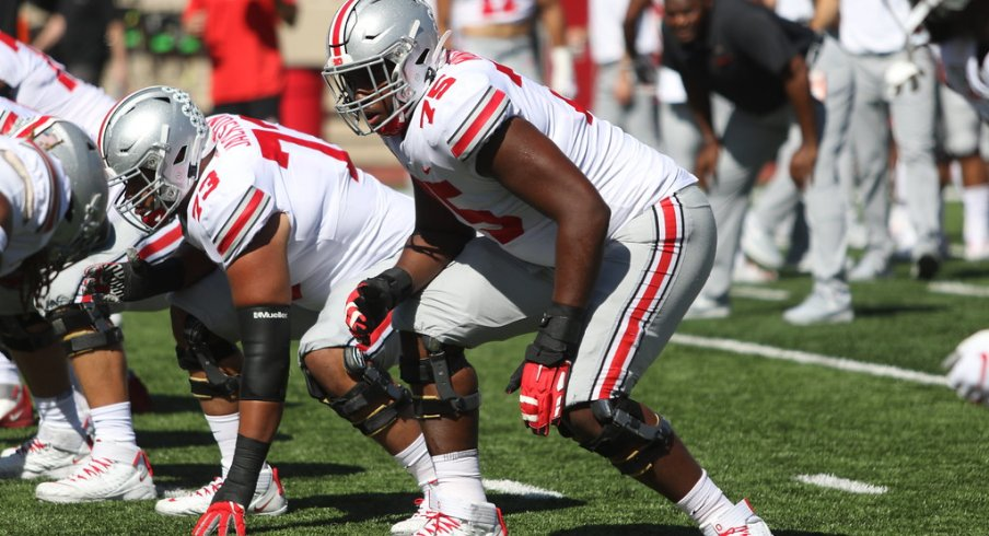 The left side of Thayer Munford and Jonah Jackson have been dominant through three games.