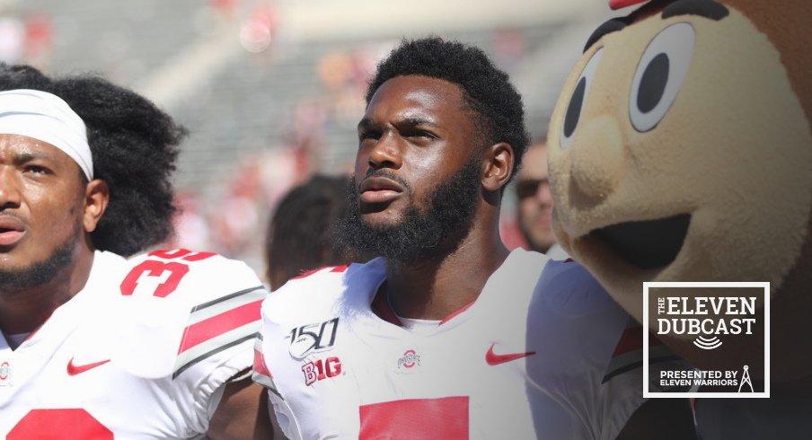 Ohio State player Baron Browning