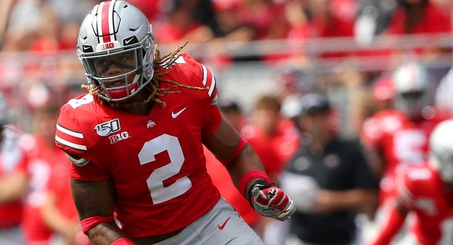 Chase Young has 8.5 sacks through Ohio State's first six games.