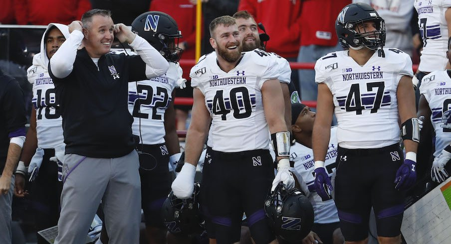 Pat Fitzgerald and the Northwestern Wildcats