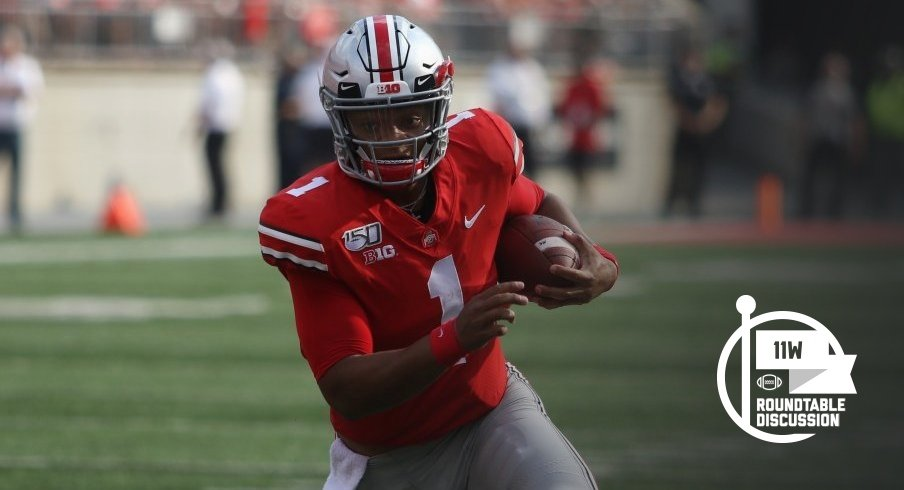 Justin Fields has been Ohio State's most valuable player so far this season.