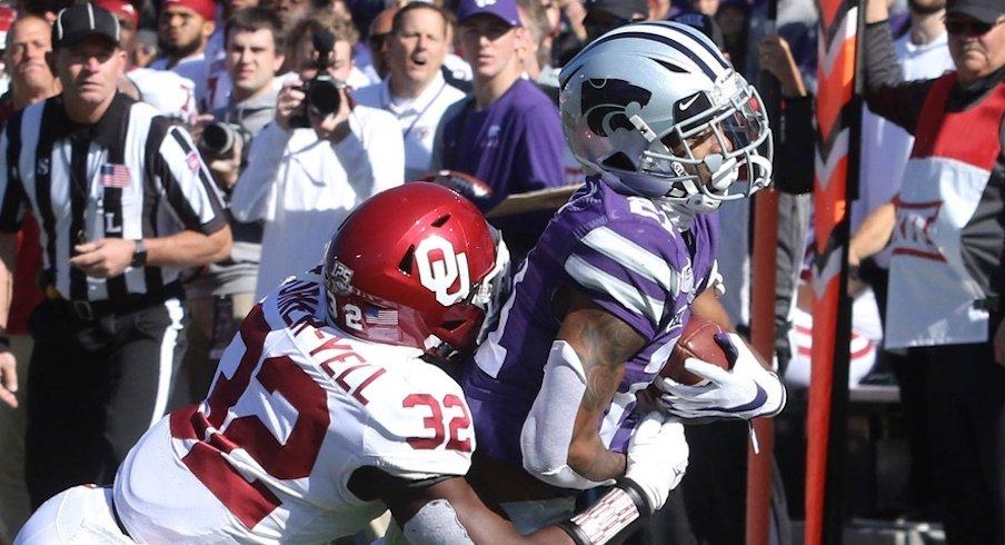 Kansas State upsets Oklahoma.