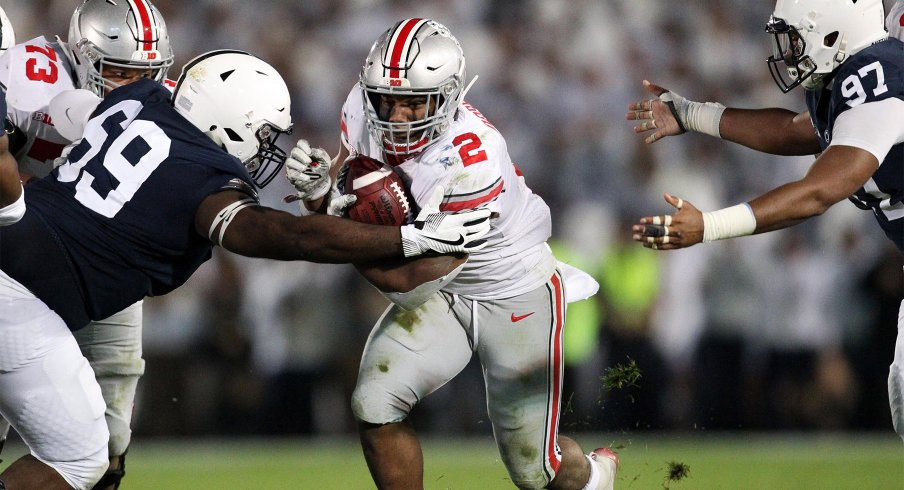 Ohio State running back J.K. Dobbins