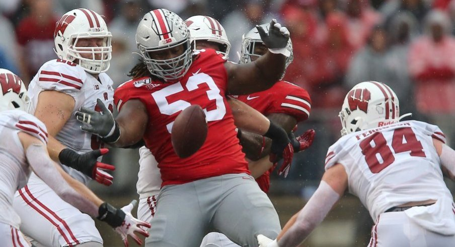 Fifth-year senior Davon Hamilton is one of Ohio State's most underappreciated performers.