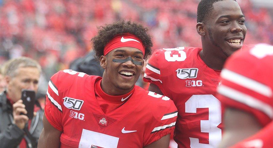 Garrett Wilson and Zach Harrison have both made an early splash as true freshmen.