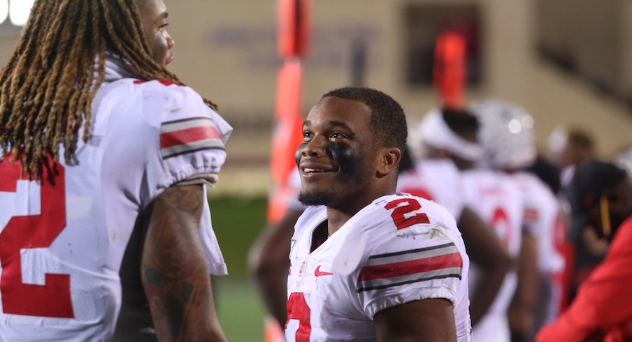Chase Young and J.K. Dobbins