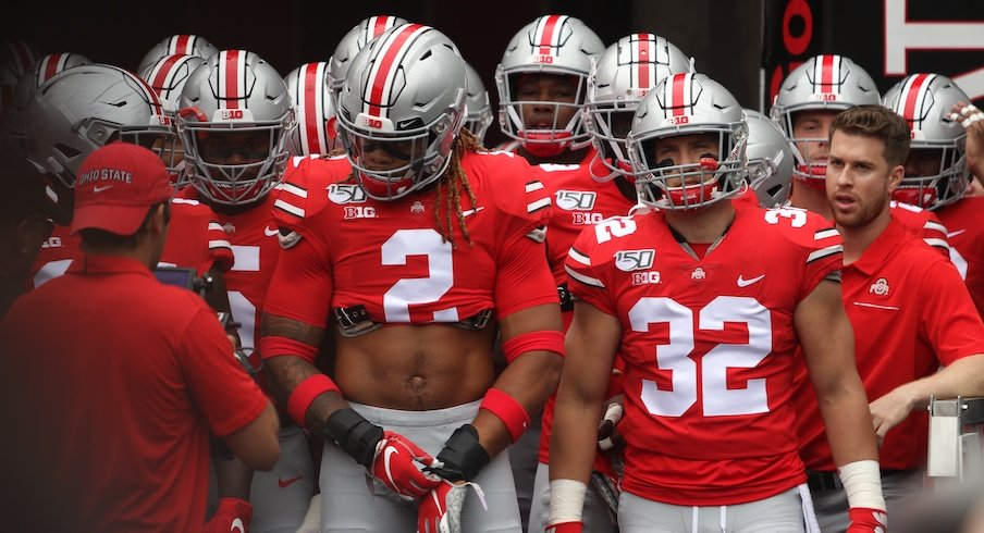 Chase Young, Tuf Borland and the Ohio State Buckeyes