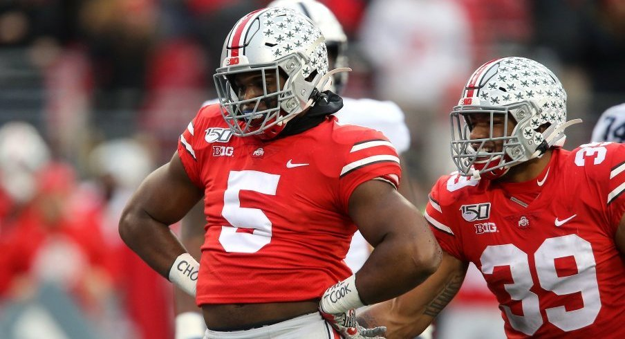 Baron Browning returned from injury to post seven tackles, 2.5 tackles for loss and 1.5 sacks against Penn State.