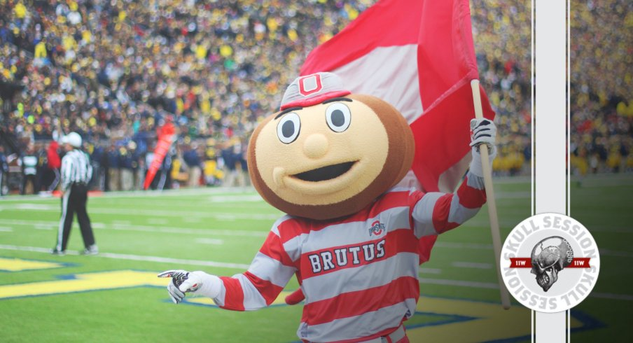 Brutus is ready for The Game in today's Skull Session.