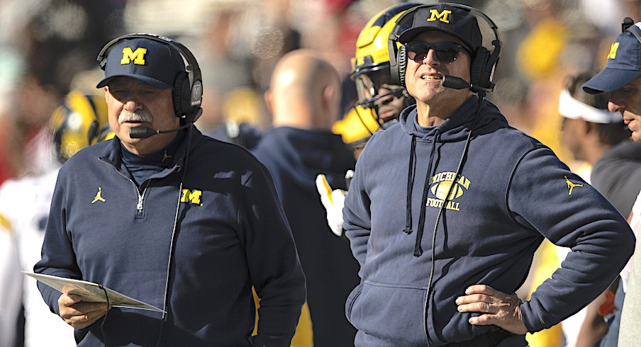 Don Brown and Jim Harbaugh