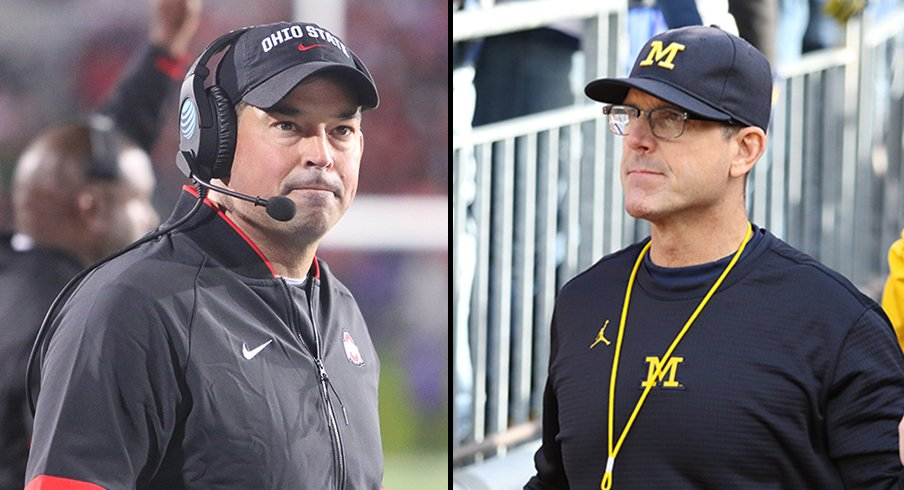 Ryan Day and Jim Harbaugh will be seeing plenty of one another with the Class of 2021.