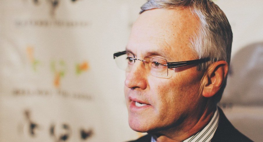 Jim Tressel doesn't like the idea of losing to Michigan.