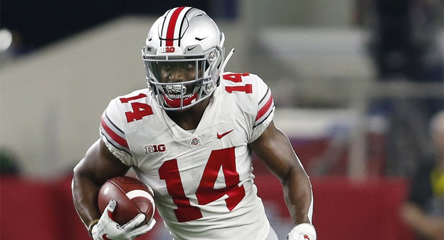 K.J. Hill is Ohio State's new all-time receptions leader.