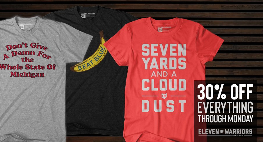 30% off everything at Eleven Warriors Dry Goods this weekend