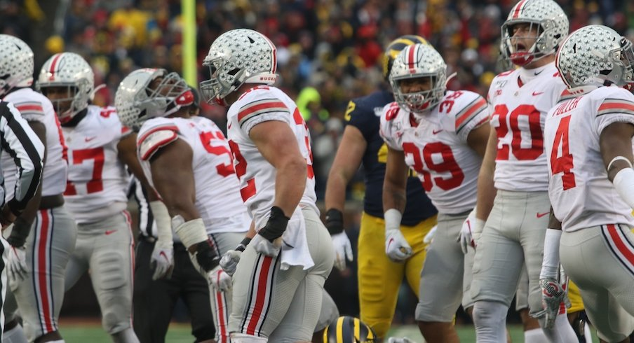 Ohio State's defense against Michigan on Saturday.