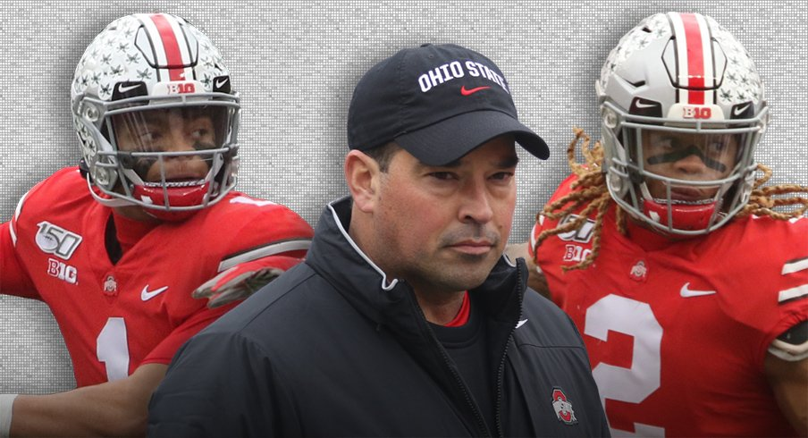 Ohio State sweeps the Big Ten's Offensive Player of the Year, Defensive Player of the Year, and Coach of the Year.
