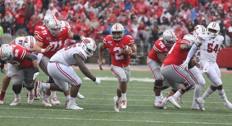 Thanks to a bruising ground attack, the Buckeyes put up 38 points on one of the nation's top defense back in October.