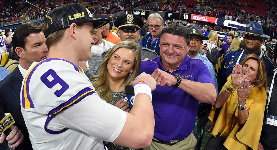 Joe Burrow and the Tigers are going to the College Football Playoff.
