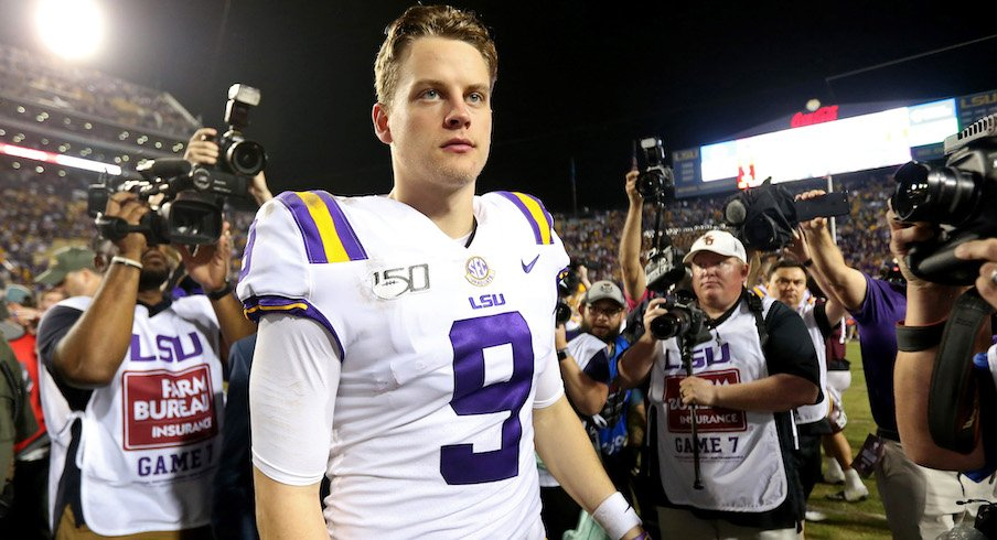 Joe Burrow On Continued Support From Ohio State Since