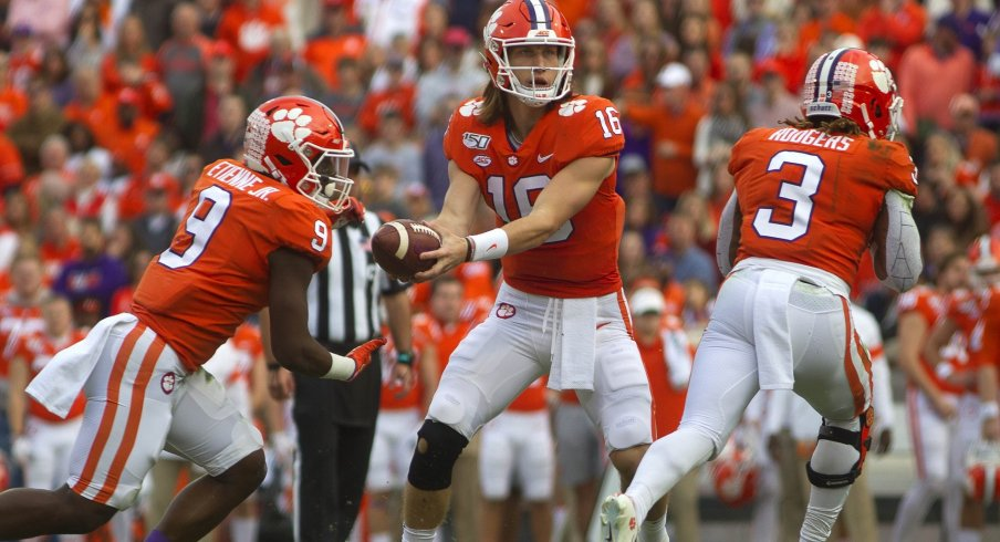Trevor Lawrence and Travis Etienne are the engine behind the Tigers' explosive offense.