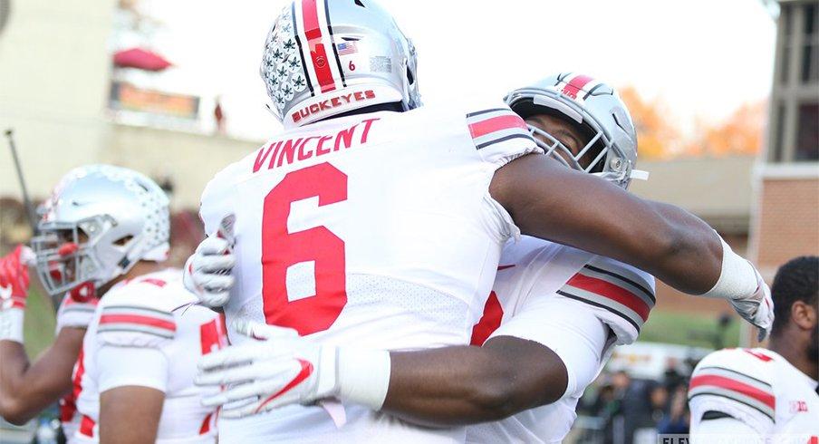 Ohio State defensive tackle Taron Vincent