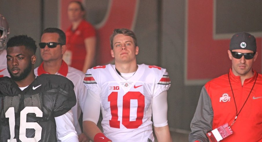 Former Ohio State quarterback Joe Burrow